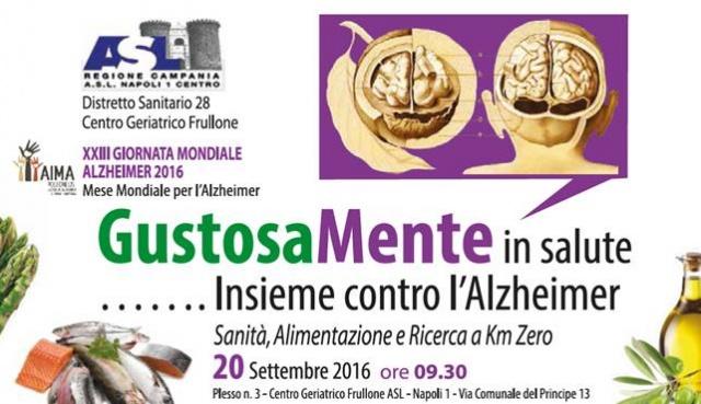 'GustosaMente in salute … Insieme contro l'Alzheimer'