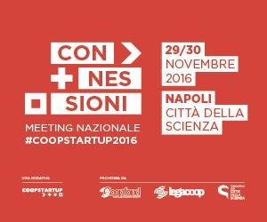 Meeting nazionale Coopstartup a Città della Scienza