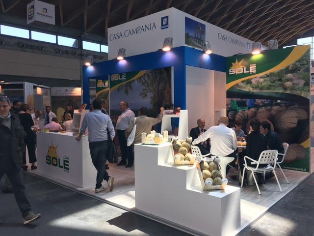 Cooperativa Sole di Parete (Ce). Successo al Macfrut 2017 di Rimini.