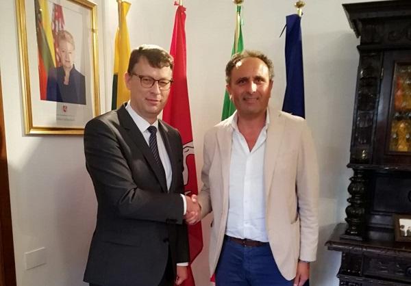 Relazioni Internazionali. Proseguono tappe di avvicinamento per accordi con la Lituania