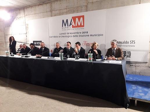CoopCulture. MAM, il Museo Aperto della Metropolitana a Napoli.