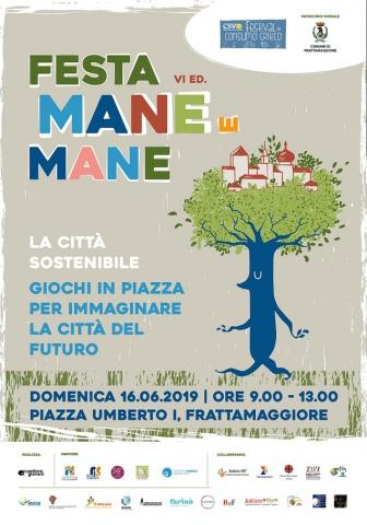 Cooperativa Cantiere Giovani. Al via la VI edizione di Festa Mane e Mane: 'La Città Sostenibile'