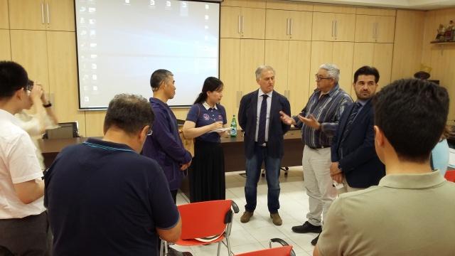 Cooperativa Sole di Parete (CE). Delegazione cinese studia il modello cooperativo di Sole
