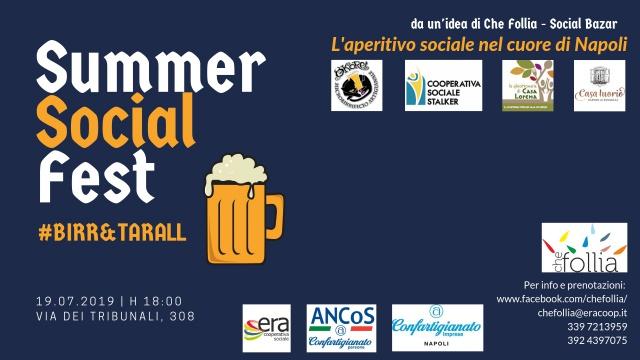 Cooperativa ERA. Summer Social Fest #birr&tarall