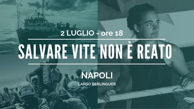 Salvare vite non è reato: l'adesione di Legacoop Campania
