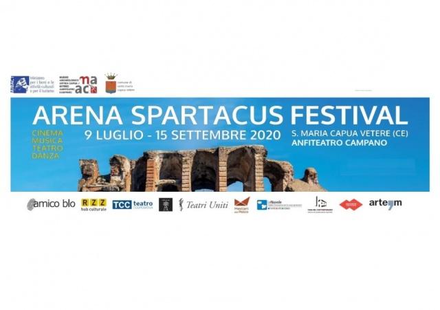 Cooperative TCC Teatro-Teatri Uniti-Le Nuvole-Mestieri del Palco. Arena Spartacus Festival – Due mesi di Cinema, Danza, Letteratura, Musica e Teatro per il Festival più ricco di appuntamenti dell'estate 2020 in Campania