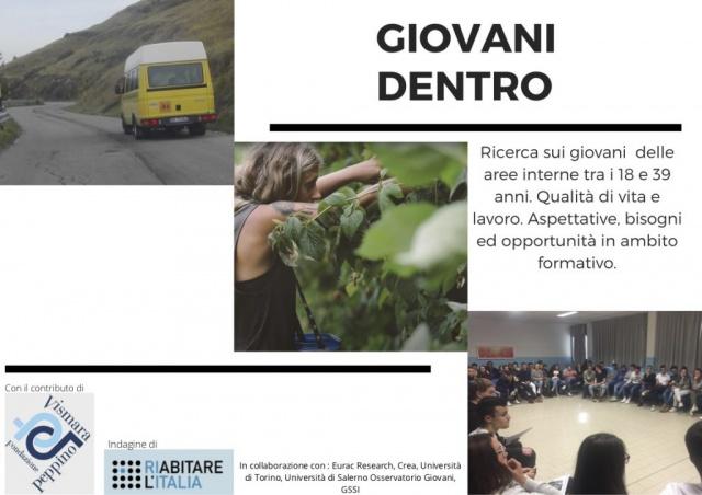 Riabitare l'Italia. Questionario Giovani Dentro!