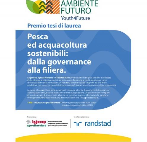 Legacoop Agroalimentare e Pesca. Premio tesi di laurea Pesca e Acquacoltura sostenibili: dalla governance alla filiera