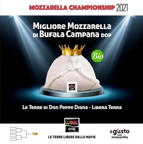 Coop. Le Terre di don Peppe Diana Libera Terra.  Mozzarella Championship 2021: PRIMI!!!!!